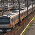 E233系中央特快 中央本線豊田~八王子