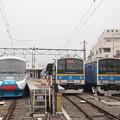 富士急大月駅の並び