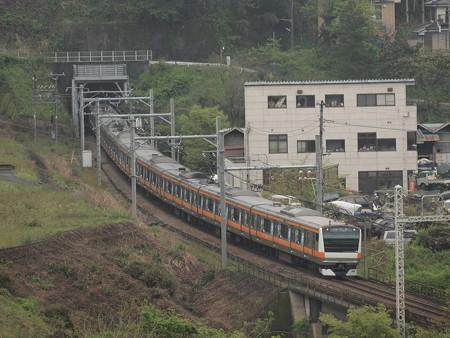 E233系快速 中央本線藤野~上野原