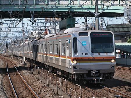 メトロ7000系普通 東武東上線朝霞駅