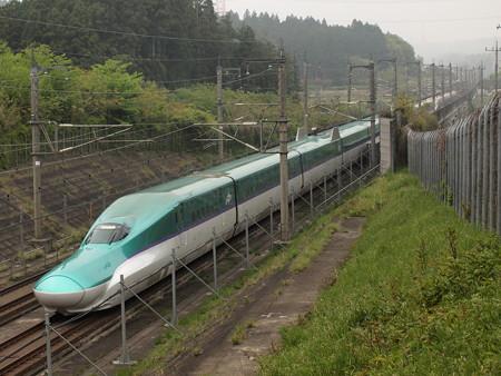 H5系+E6系 はやぶさ・こまち 東北新幹線那須塩原~宇都宮