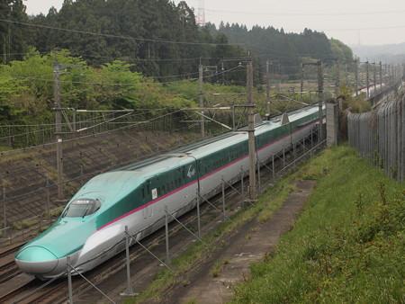 E5系+E6系 はやぶさ・こまち 東北新幹線那須塩原~宇都宮