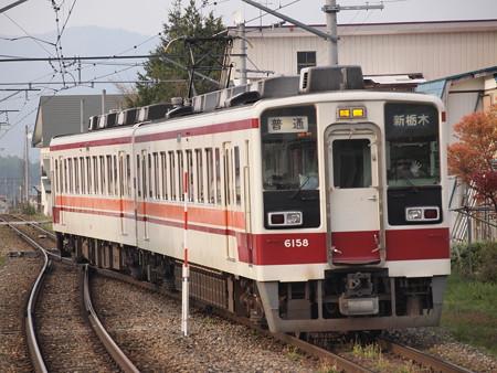 東武6050系普通 会津鉄道会津荒海駅