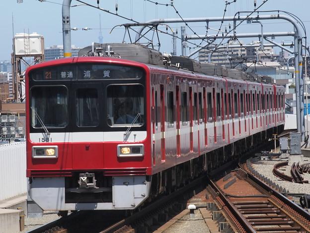 京急1500形普通 京急本線蒲田駅