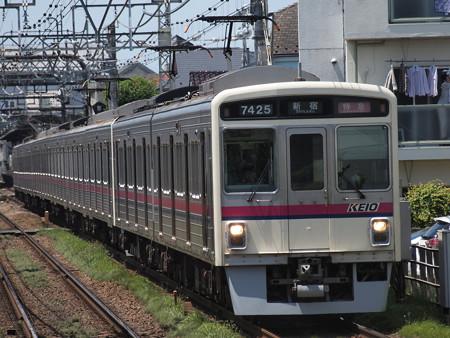 京王7000系特急 京王線西調布駅