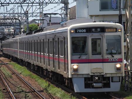 京王7000系準特急 京王線西調布駅02