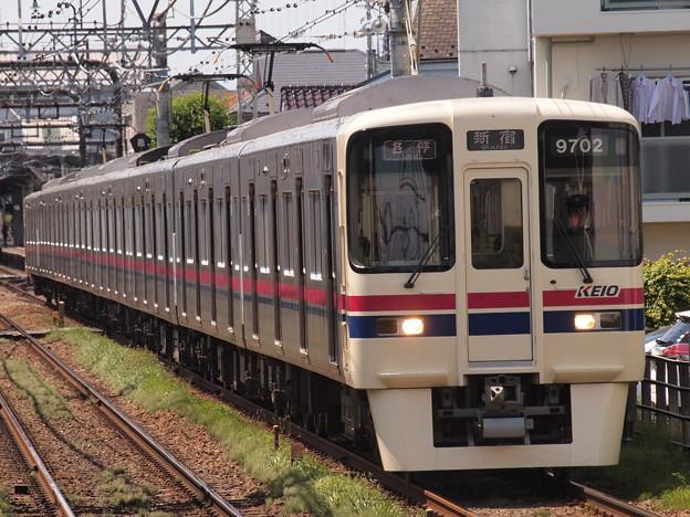京王9000系各停 京王線西調布駅02