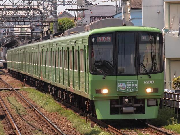京王8000系準特急 京王線西調布駅01