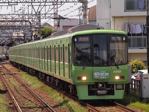 京王8000系準特急 京王線西調布駅02