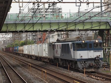 EF64貨物  常磐線北松戸駅01