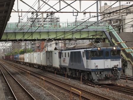 EF64貨物  常磐線北松戸駅02