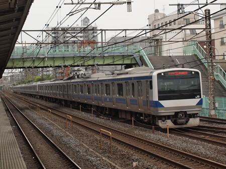 E531系特別快速 常磐線北松戸駅