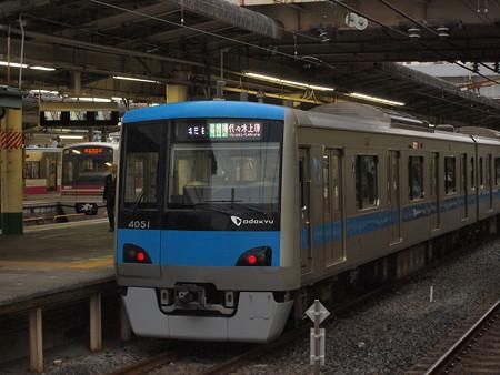 小田急4000各停 常磐線松戸駅01