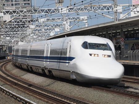 700系のぞみ 東海道新幹線浜松駅