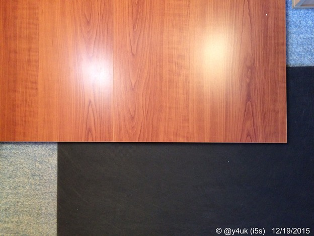Photos: 到着設置チェリー板4枚→防音マット2.5枚 ~師走にDIY中大掃除兼