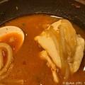 写真: 辛さが暖まって美味しい!ガストの冬はチゲ鍋が暖まる心にも涙と落ち着く~遅いマイペースが早くなる(o^^o) time 19:44 dinner