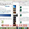 23:38Macで記事更新~5ヶ月ぶり~13:50 iOS11.3.1へiPhone7Plus/iPadAirインストール8h