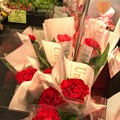 17:24通院帰りフラフラ中に購入カーネーション~何年ぶりか?自分の心の花が優しさが買った…~Red flower of carnation