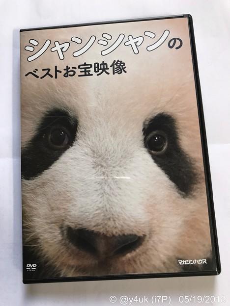 シャンシャンのベストお宝映像!箱からくり抜くと構図も変わりさらにドアップ!ムフフ映像満載DVD♪飼育係による成長記録映像で良いね~愛情と無邪気さに癒され孤独の涙は頬をつたい笑顔に( ´ ▽ ` )