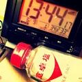 写真: 急激34.8℃_13:44 蒸し暑い熱中症頭痛がする危険な猛暑いきなり…慣れていない躰…塩を水に入れ飲む夏…ぬるい扇風機…サウナ状態…ファブリーズ飲んではならない我慢しNew振りかける
