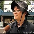 """写真: 18:24""""毎日パンダ""""の写真家高氏貴博さん、もちろんきょうも上野動物園へ毎日撮影♪~NHKニュース首都圏ネットワーク☆子は親を選べない。子に罪はない。祝賀ムードの中、笑顔"""