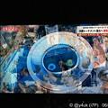 写真: 23:51 空撮ロシア エカテリンブルクアリーナ&#JPNサポーター!24時キックオフ~日テレ(25月0:00TVerでもLive)巨大スタジアム、溢れる観客席☆2戦vsセネガル