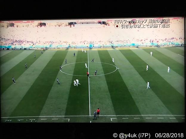 Photos: 23:00 #JPN vs #POL kickoff~運命の3戦、始まった~6人入れ替え、川島GK好セーブ、ラスト10分の勇気決断。各3試合ともW杯ならでは厳しいドラマが歴史が~未来のサッカーが見えた