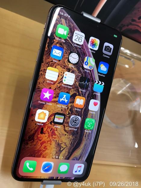 2年愛用7Plusクロネコその場で新品交換10.7お誕生日に☆だから今日Macでバックアップ~iPhoneXSMax初見!有機ELも綺麗で大画面でカメラも良く欲しいけどバカ高い、この手では持ちづらい…