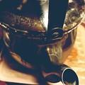 写真: 急に寒い冬、ブリタ(冷水)→やかん(お湯)へ冬支度交換~長年愛用で取れない汚れ、注ぐ先端のセクシーさ魅了…なかなか沸かない待つ熱いお湯で心身奥まで温めて狂わせて、warmそのままの君が好き~温か空気感