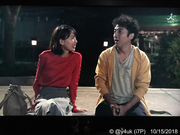 気づけば朝まで外で♪心を開いたムロツヨシ&輝く笑顔見つめる戸田恵梨香(o^^o)この2人このカップルはドラマ以上に自然な演技で愛が溢れ出てる最高(*´ω`*)輝くほど好きになる。難病や別れ共感つらい…