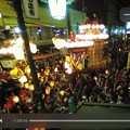 """Photos: night Live生配信""""川越まつり""""2日目☆関東3大祭りの1つ☆固定カメラ前で""""曳っかわせ""""観れた!ネットでお祭りもガチリアルに世界中で観られる時代~ハロウィン色世界~iPhone7Plus"""