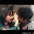 """2話ラスト:ムロツヨシ(真司)「(キス…)」戸田恵梨香(尚)「今じゃない(拒否の手がよい)」笑顔な2人がナチュラル過ぎて好き。愛おしい2人の関係。いつまでも元気でいてよ尚…TBS""""大恋愛"""""""