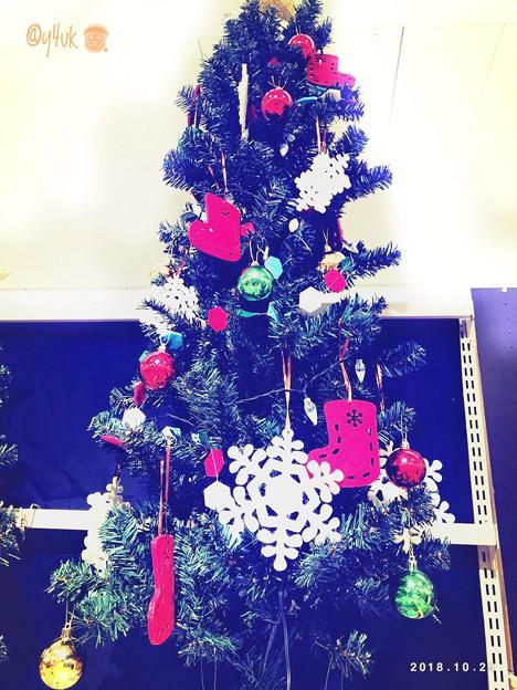 Photos: 10.29早くもハロウィン前にXmas販売開始していた(о´∀`о)クリスマスツリー他グッズに色めく平和のイベント1番大好き~孤独でも…世界観、穏やか笑顔、ロマンチックJoy to the world