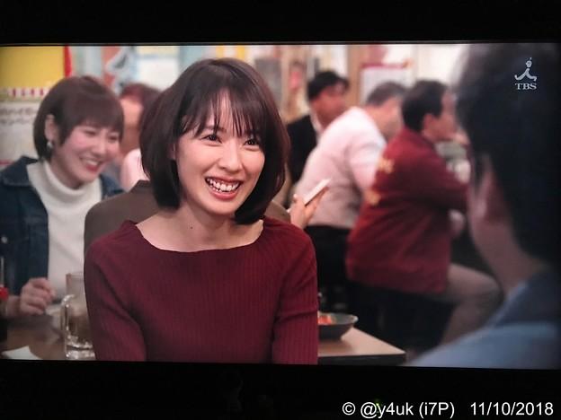 5話:戸田恵梨香(尚)「じゃー生きて逢えたのは、奇跡だね。もう少しで死ぬとこだった」真司「俺も小説書いてなきゃ死んでたよ」輝きを戻した笑顔が自然(^^)奇跡は再び2人に☆INEDの赤が生きる力を物語る