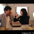 Photos: 6話:ムロツヨシ(真司)「アップルパイ超美味しい(°▽°)!」戸田恵梨香(尚)「変顔いっぱい撮っとこう!忘れないように…(iPhone連写)」アドリブ本当の笑顔( ´ ▽ ` )リアルに仲良し2人の愛