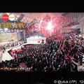 Photos: 23:44:58神回紅白終了2秒前リアルタイム写真でした。NHKホールに放たれた赤白テープ観客の盛り上がりが例年より良かった。行って見たい思わせるほど。平成最後の紅白は一部除き歴史的で国民の記憶に残る