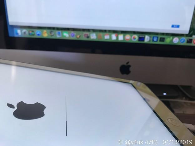 Photos: 5年も愛用iPad Air→Mac→バックアップiOS11.4.1→8ヶ月ぶりリカバリーiOS12.1.1→1時間でバックアップ復元完了32GBだから早く完了した12ギリ対応。最新iPad Pro革命