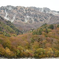 黒部ダム湖からの立山
