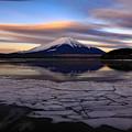 写真: 日が昇り