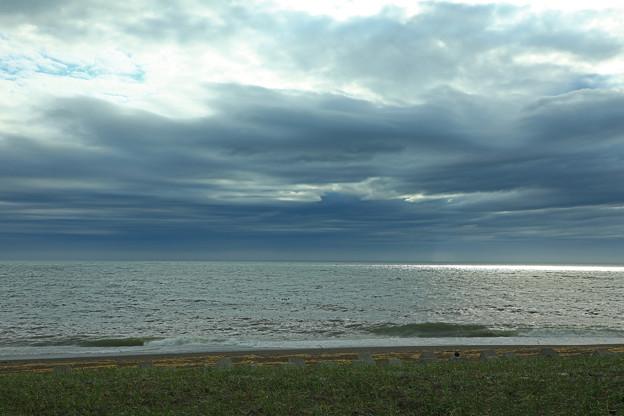 灰色のオホーツク海