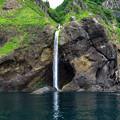 写真: カシュニの滝