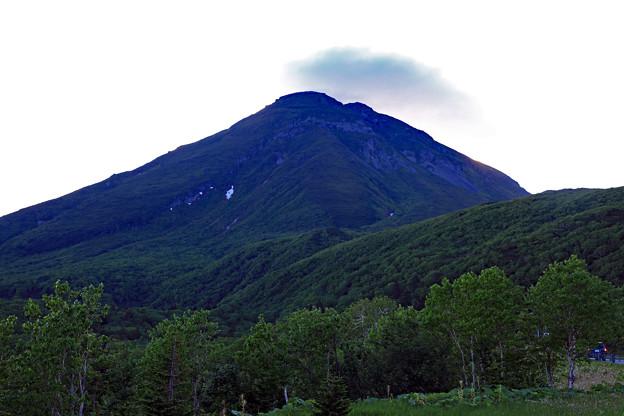 早朝の羅臼岳