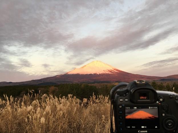 大晦日の富士景色