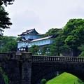 写真: 伏見櫓と二重橋