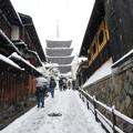 写真: 京都-八坂塔