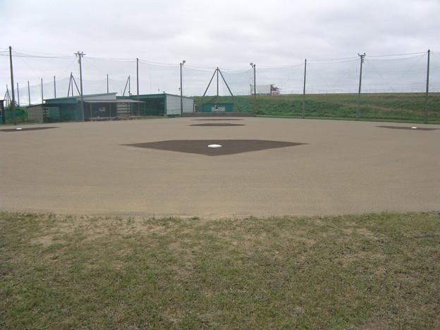 硬式野球部 野球場