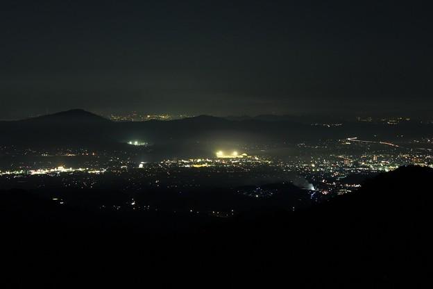 鬼ノ城からの夜景 その1