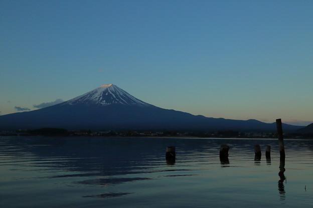 静寂の富士