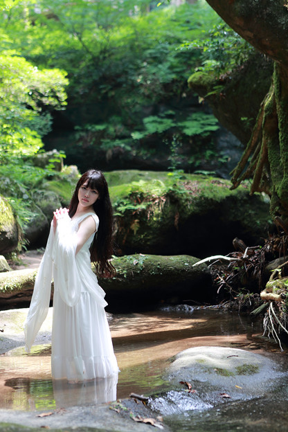 写真: 女神