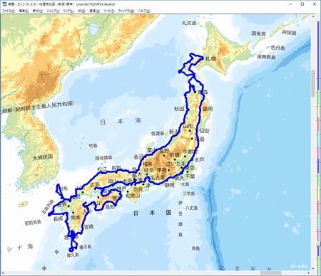 日本一周_1周目_全図